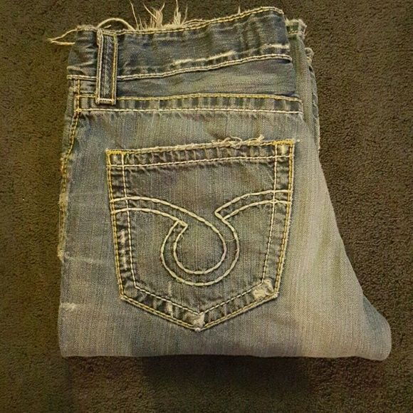Men's big star jeans Excellent condition minor fraying at ends! Big Star Jeans Boot Cut