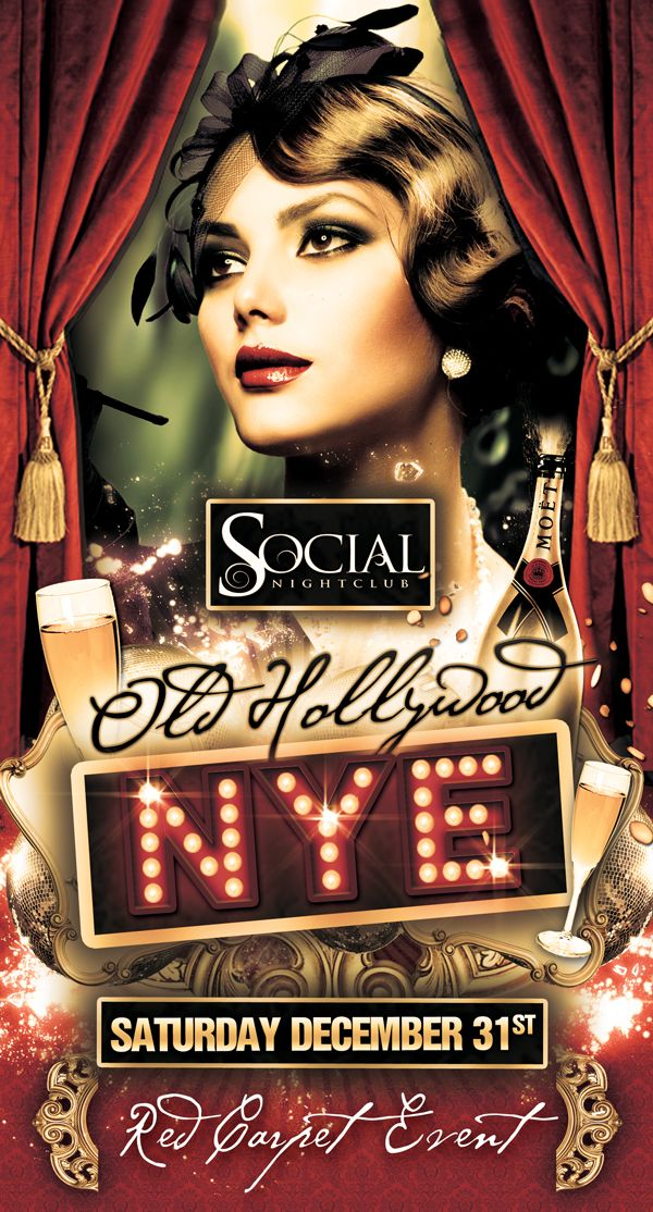 Old Hollywood New Year\'s Eve 2012 Tickets, Sacramento - Eventbrite ...