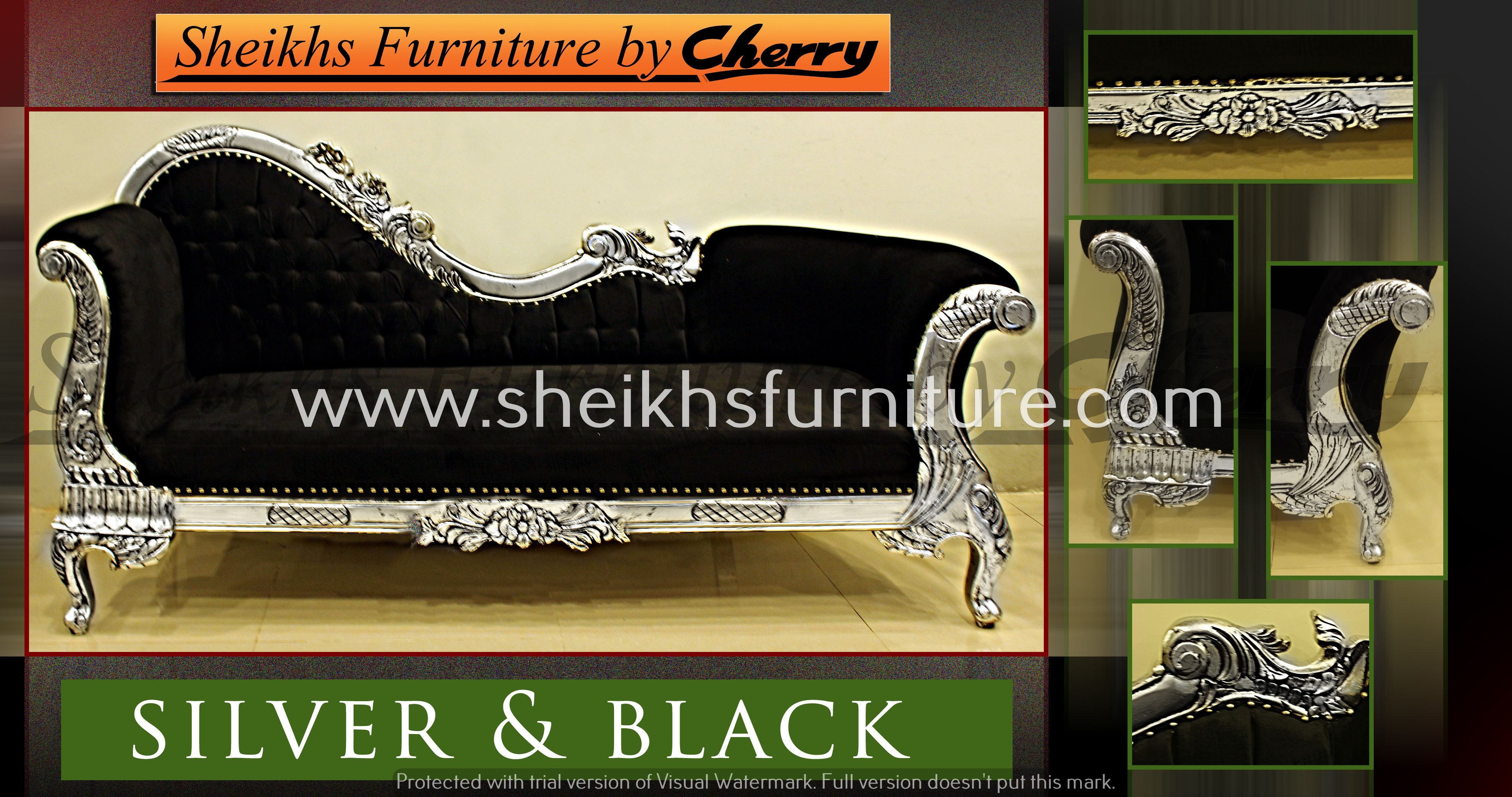 This is our solid classic rosewood deewan This deewan is made in