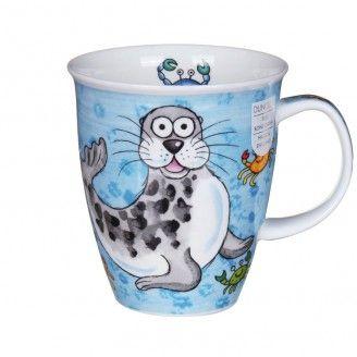 Dunoon Splash Seal Nevis Shape Mug | Temptation Gifts