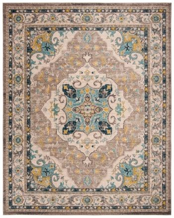 Safavieh Phoenix Ivory And Gray 8 X 10 Area Rug Reviews Rugs