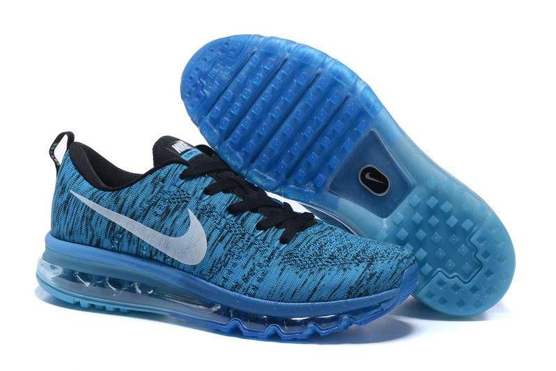 Nike Air Max Flyknit Ocean Blue | Nike air max, Cheap nike