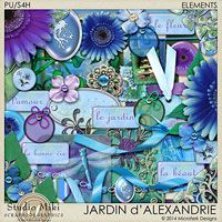 Jardin d'Alexandrie Elements