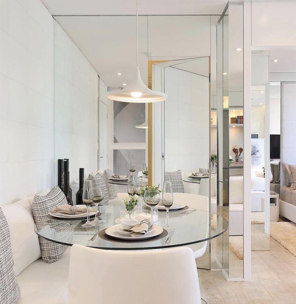 Para Quem Quer Decorar Uma Sala De Jantar Pequena Conhe A Nossa  -> Adega Para Sala De Jantar Pequena