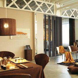 la semi cloison en lames de bois pesquisa google interiores interiors am nagements. Black Bedroom Furniture Sets. Home Design Ideas