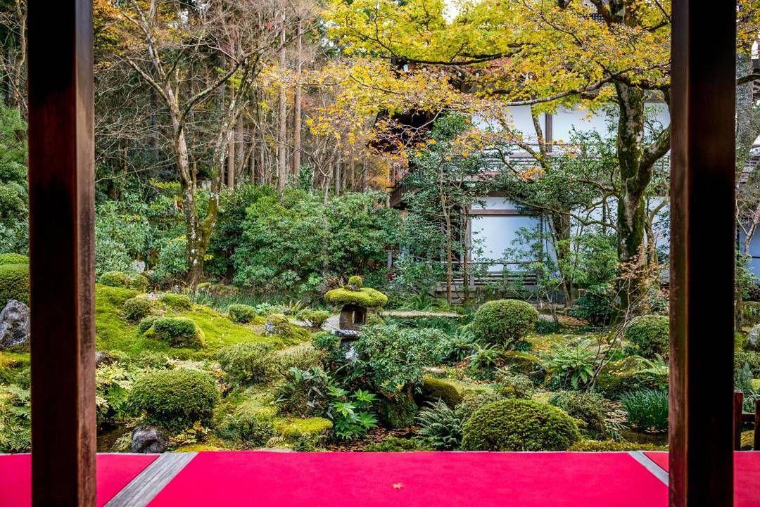 #Sanjenin #temple #landscape #Shuhekien garden #Kyakuden #Ohara #Japanese national treasure #Kyoto #Japan #LeicaCamera # madeinwetzlar #산젠인 갸쿠덴에서 바라본 슈헤키엔 정원 #20151201