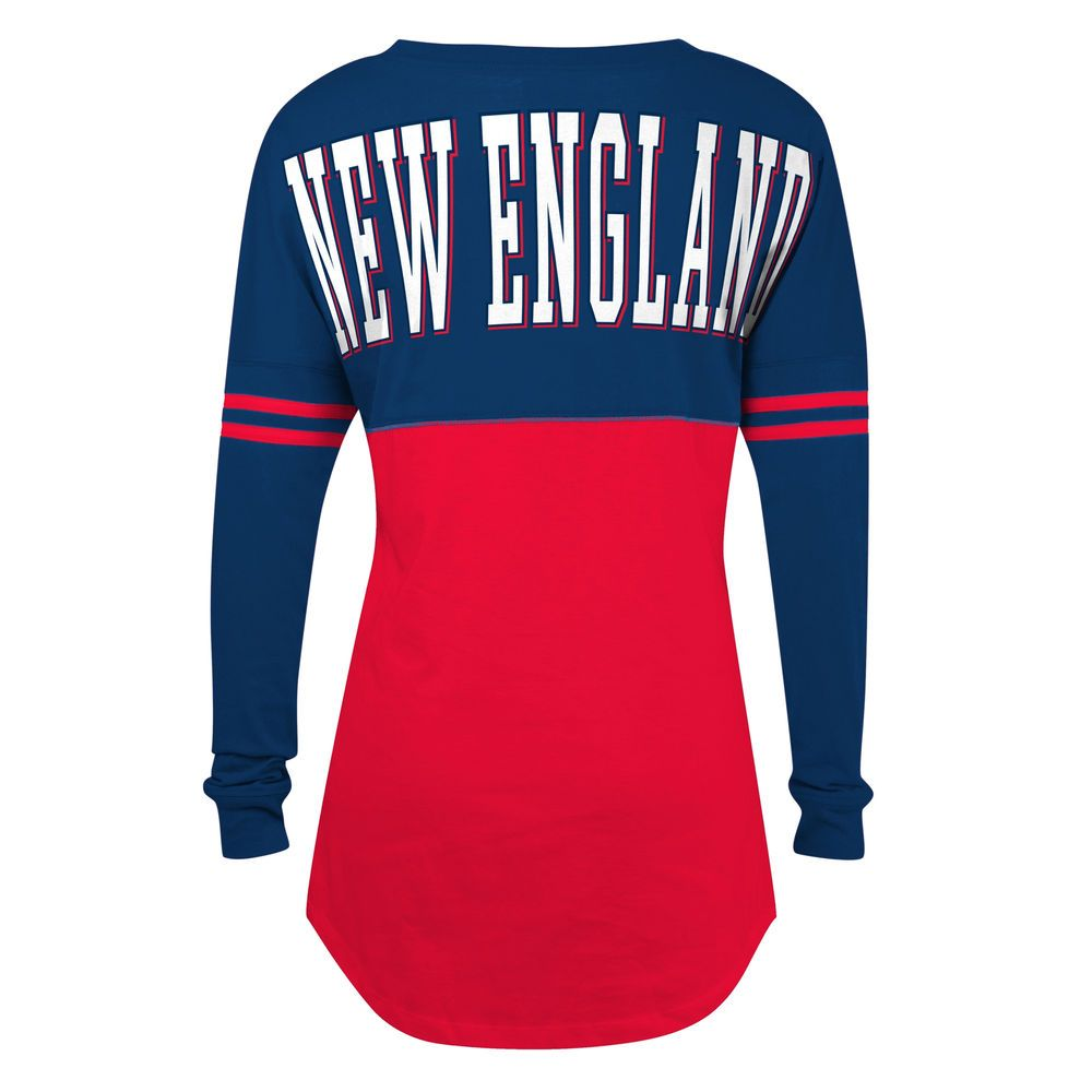 save off 7ed4d cfce7 5th & Ocean by New Era New England Patriots Women's Red Baby ...