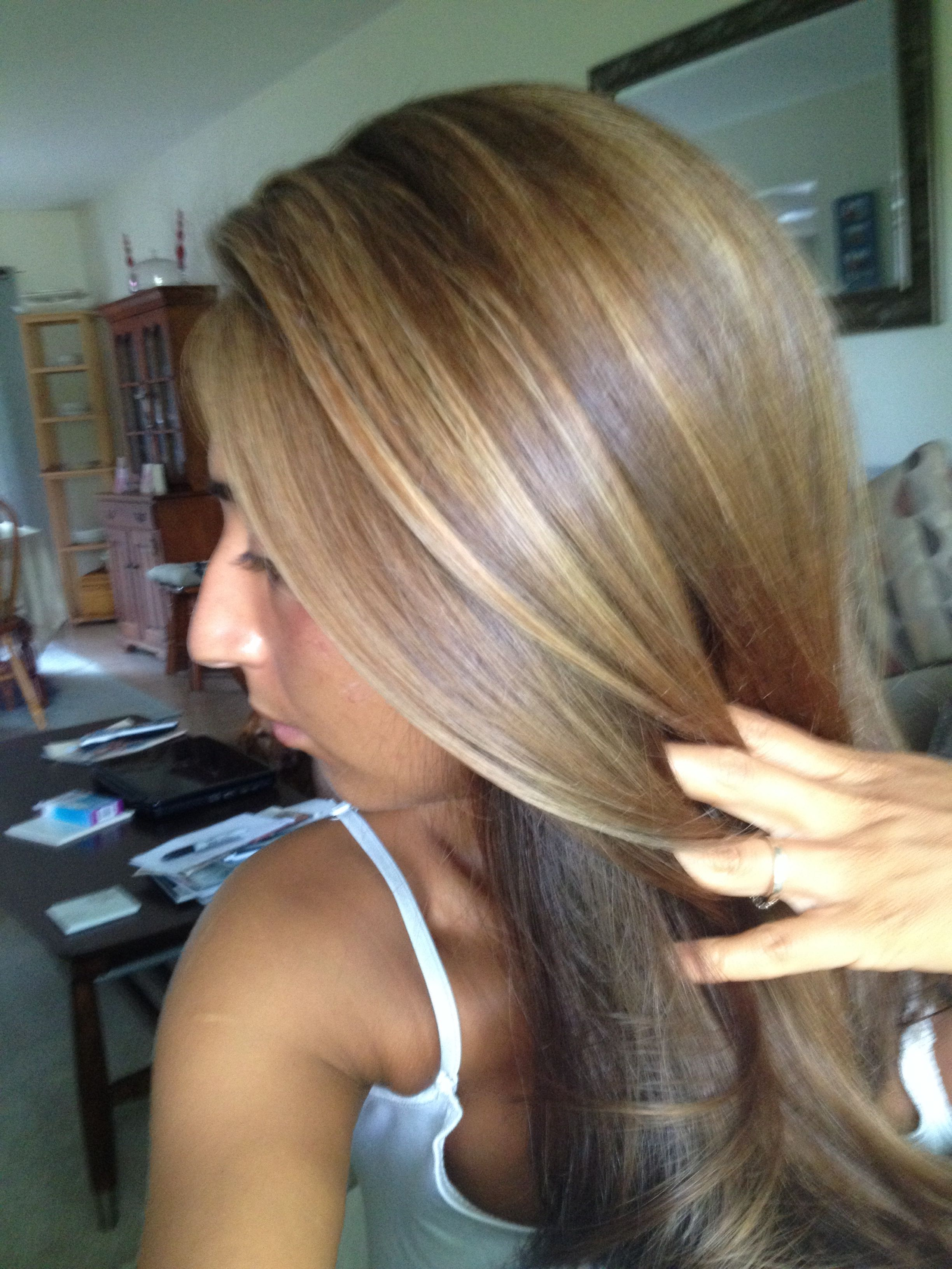 Highlights 7g And 9v Redken Glazes By Me And On Me