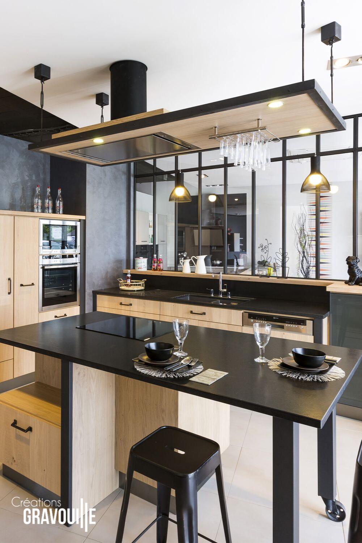 Plan De Travail Granit Loire créations gravouille - artisan cuisiniste en pays de loire