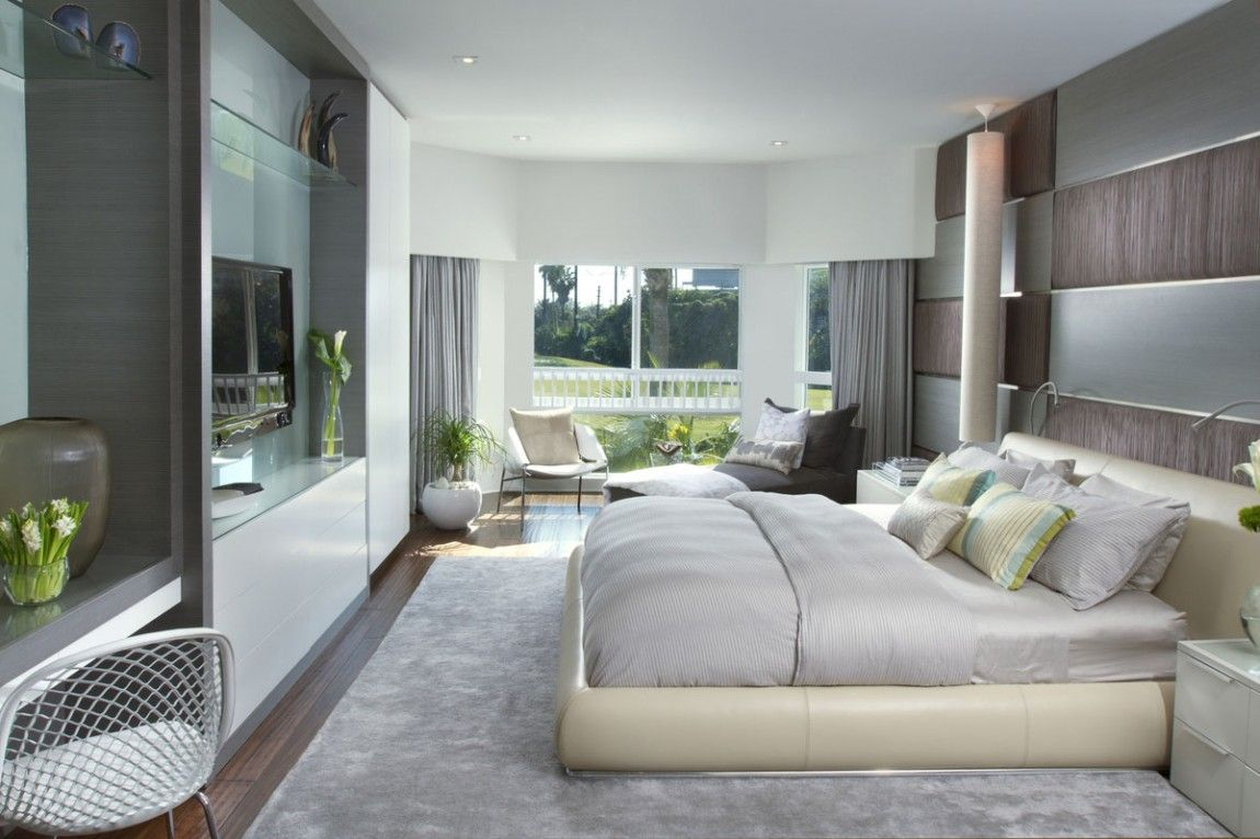 Maste Bedroom Luxury Miami Modern Home By DKOR Interiors Best - Posh bedroom designs