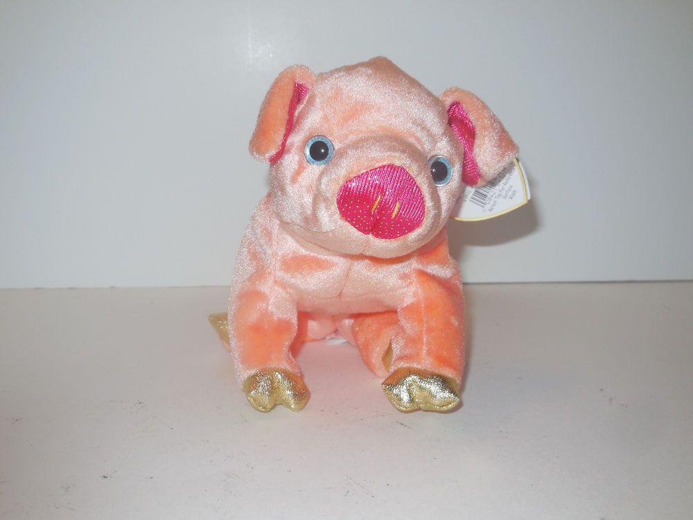"""Zodiac Series Ty Beanie Baby /""""Pig/"""" Brand New w//Mint Tags"""