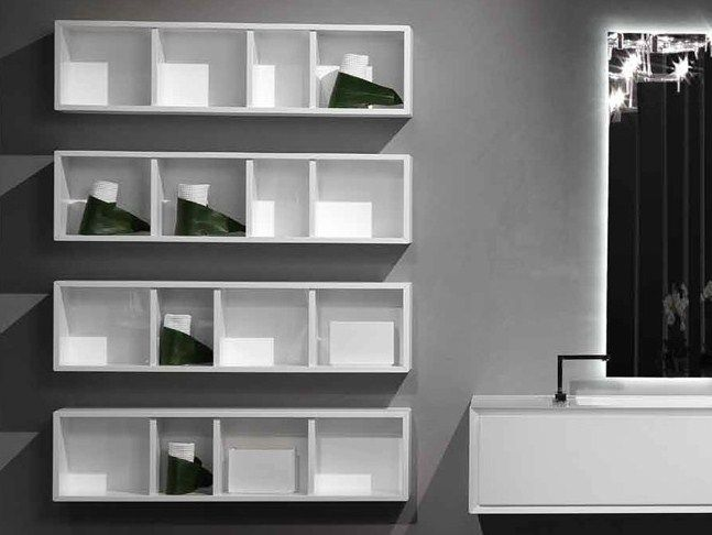 Open Wall Cabinet Unit By Rifra Wall Cabinet Bathroom Wall Cabinets Bathroom Units