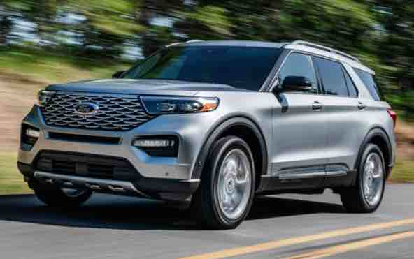 2021 Ford Explorer Platinum Colors Ford explorer, 2020
