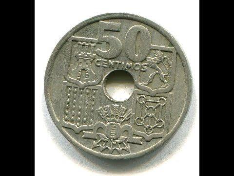 Moneda 50 Céntimos De 1949 De Franco Características Años Y Contexto Youtube Valor De Monedas Antiguas Monedas Moneda Española