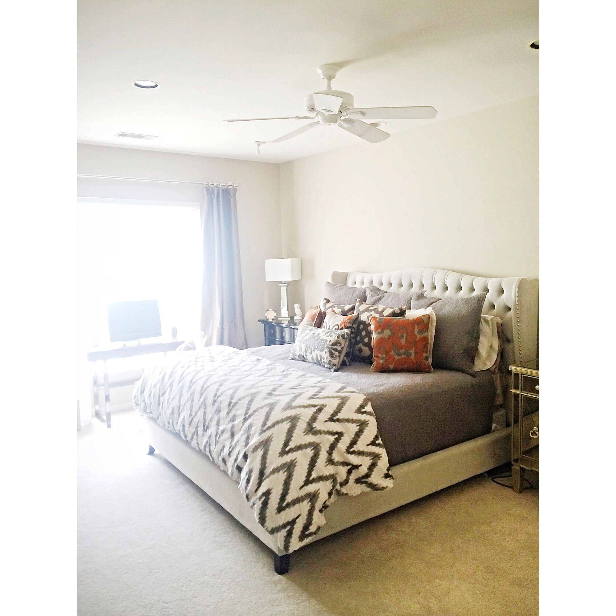 my master bedroom in my dallas texas townhouse bed from
