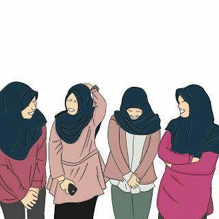 kumpulan kartun sahabat in 2020 Hijab cartoon, Anime