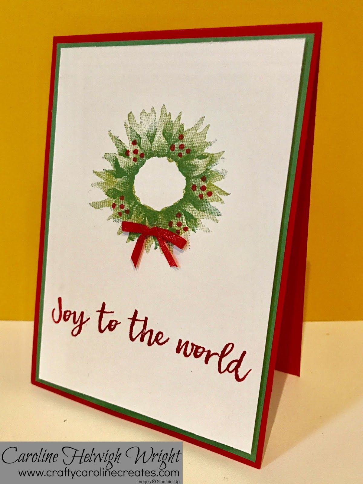 Christmas with Painted Harvest - Card Inspiration with new Stampin ...