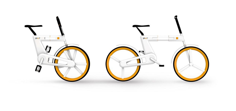 SPINIT - Urbane Mobilität - Faltrad Konzept on Behance
