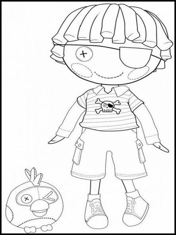 lalaloopsy 14 dibujos faciles para dibujar para niños