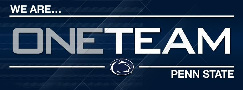 We Are One Team Penn State Penn State Football Penn State Nittany Lions