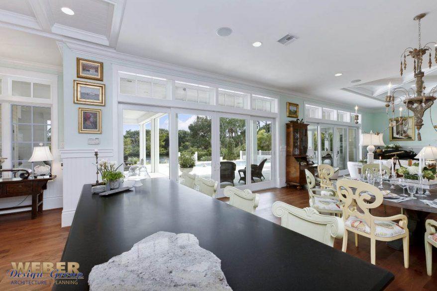 West Indies Style Home Weber Design Group Inc Naples Palm