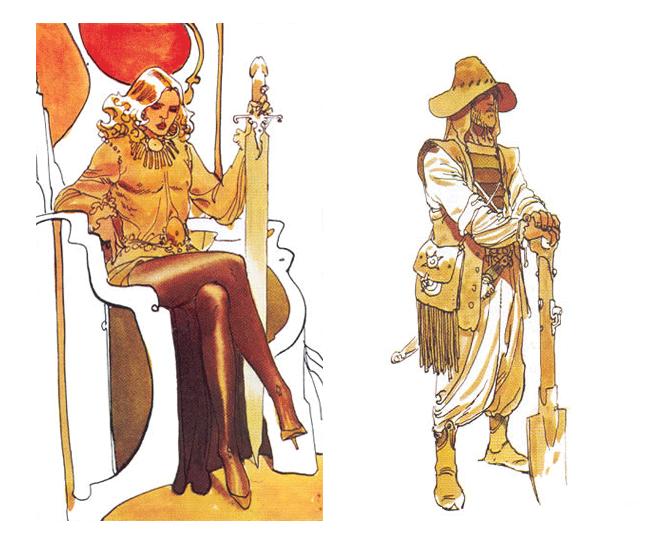 La Dune de Jodorowsky y Moebius los diseños y arte conceptual de la película fallida