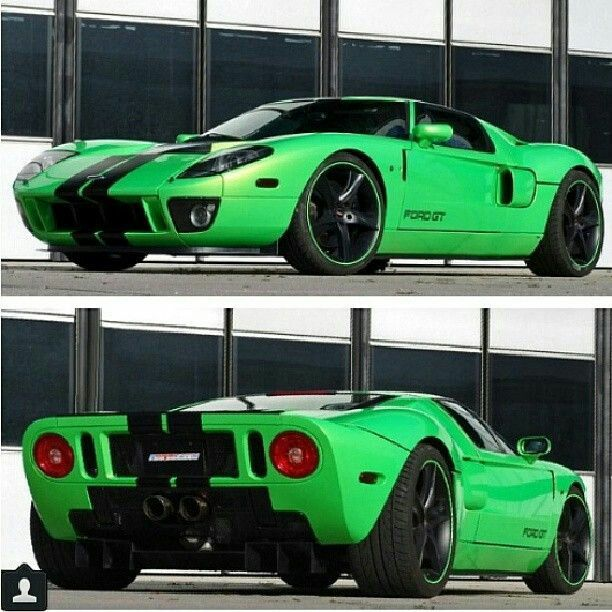 Love The Ford Gt That Green Paint Is Stunning Too