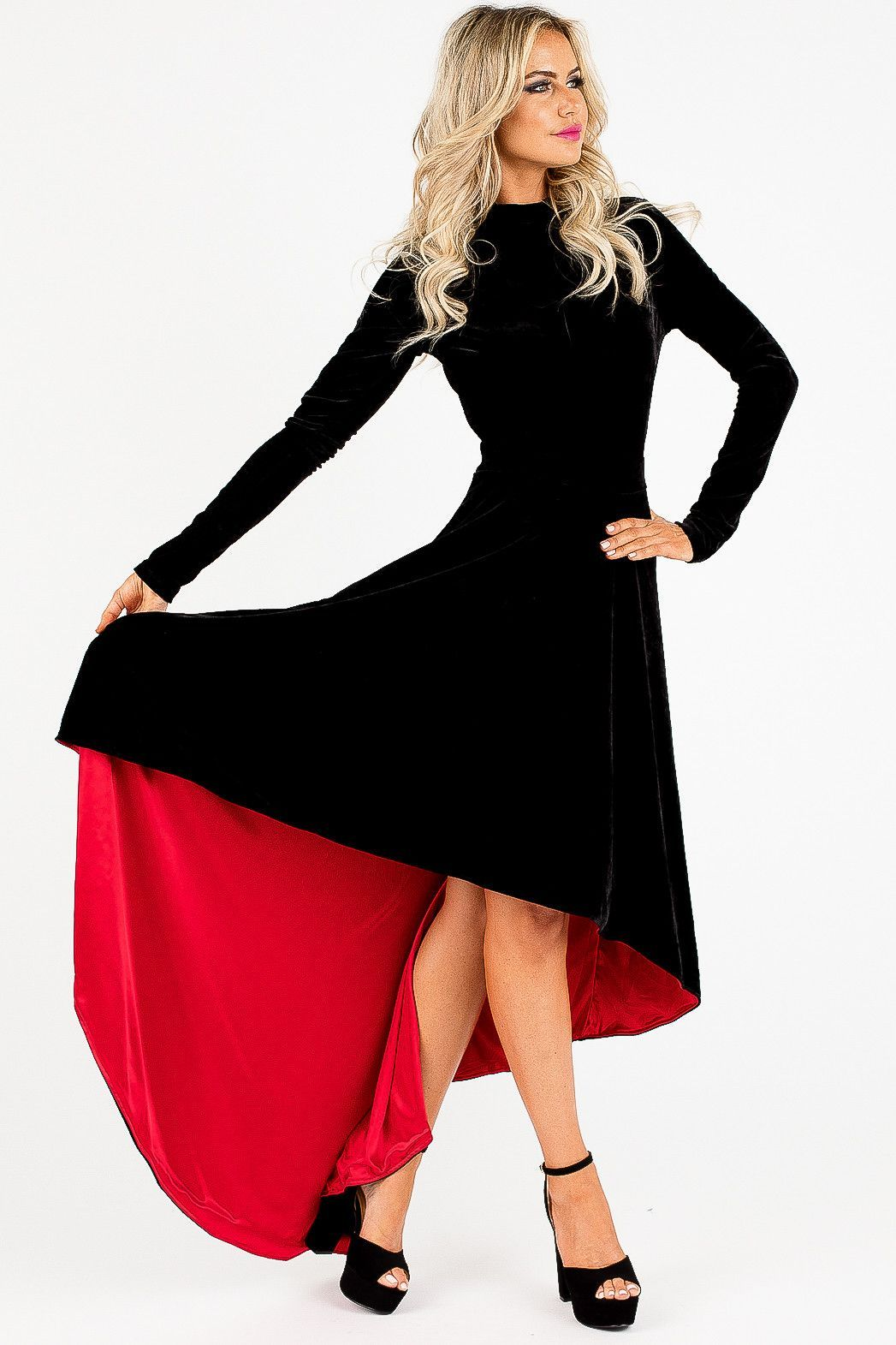Black velvet ford fantasia dress products pinterest products