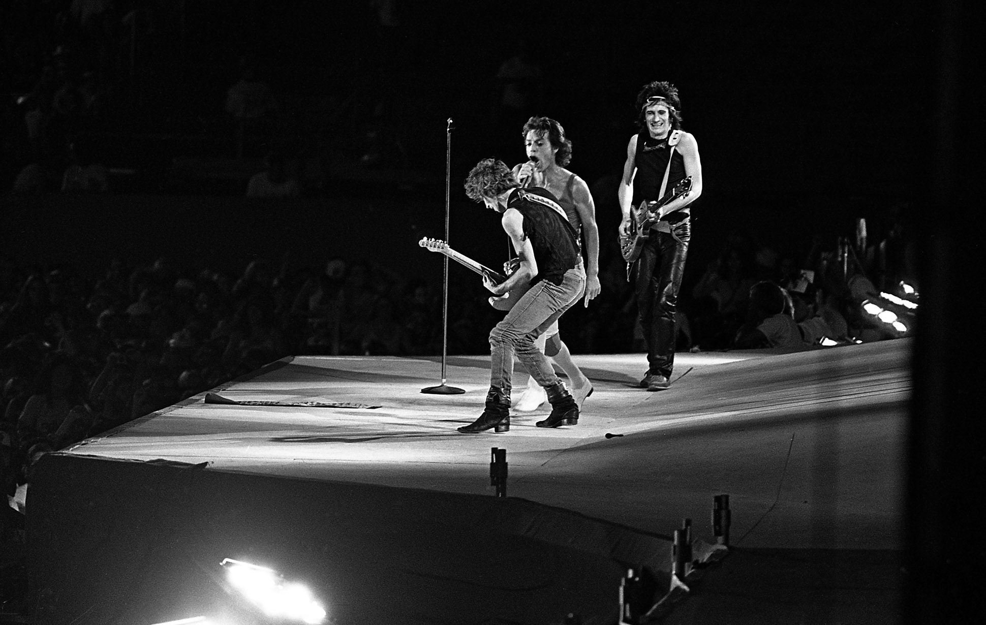 The Rolling Stones 1981 American Tour Included Two Shows On Oct 9th And 11th At Los Angeles Memorial Coliseum