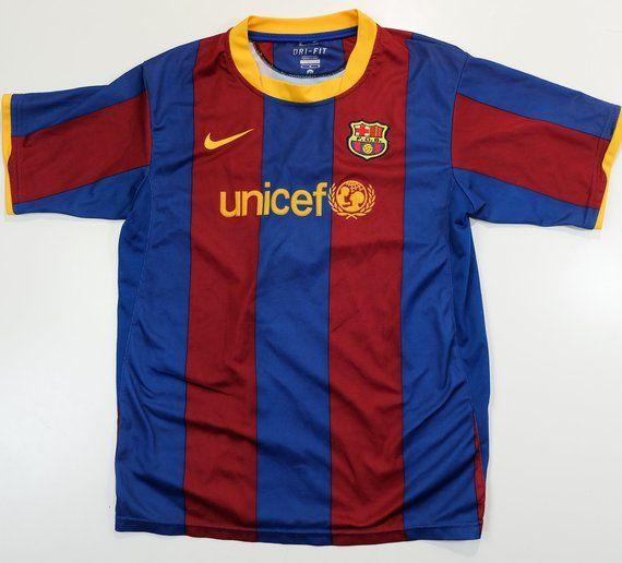 7d90a87dcf9ec Nike Dri-fit UNICEF Red Blue Lionel Messi Argentina  10 Liga Española Spain  Futbol Club Barcelona So