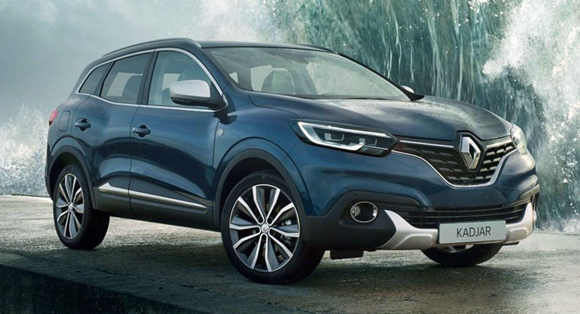 Renault Kadjar Armor Lux Gets A Taste Of Salt Water Carscoops Renault Renault Captur Salt And Water