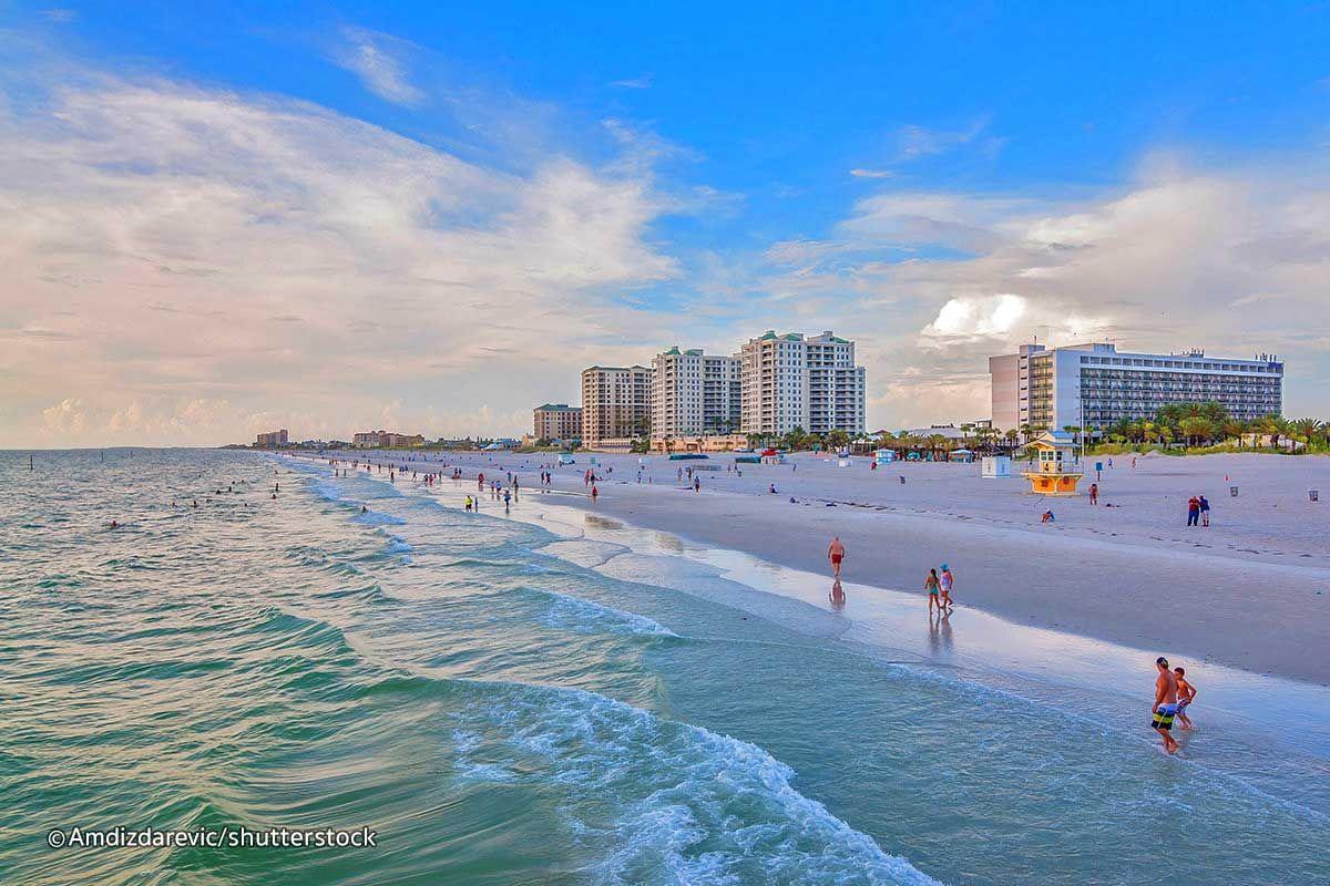 Best Beaches Near Orlando White Sand In Travel 2018