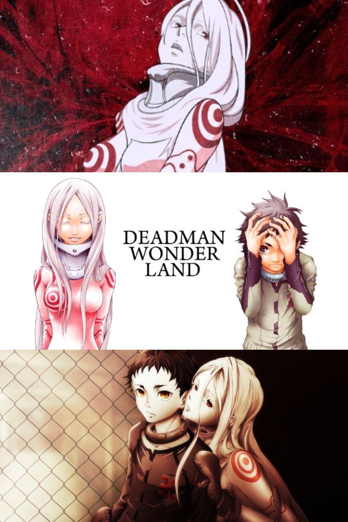 Deadman Wonderland.. this show is crazy Deadman