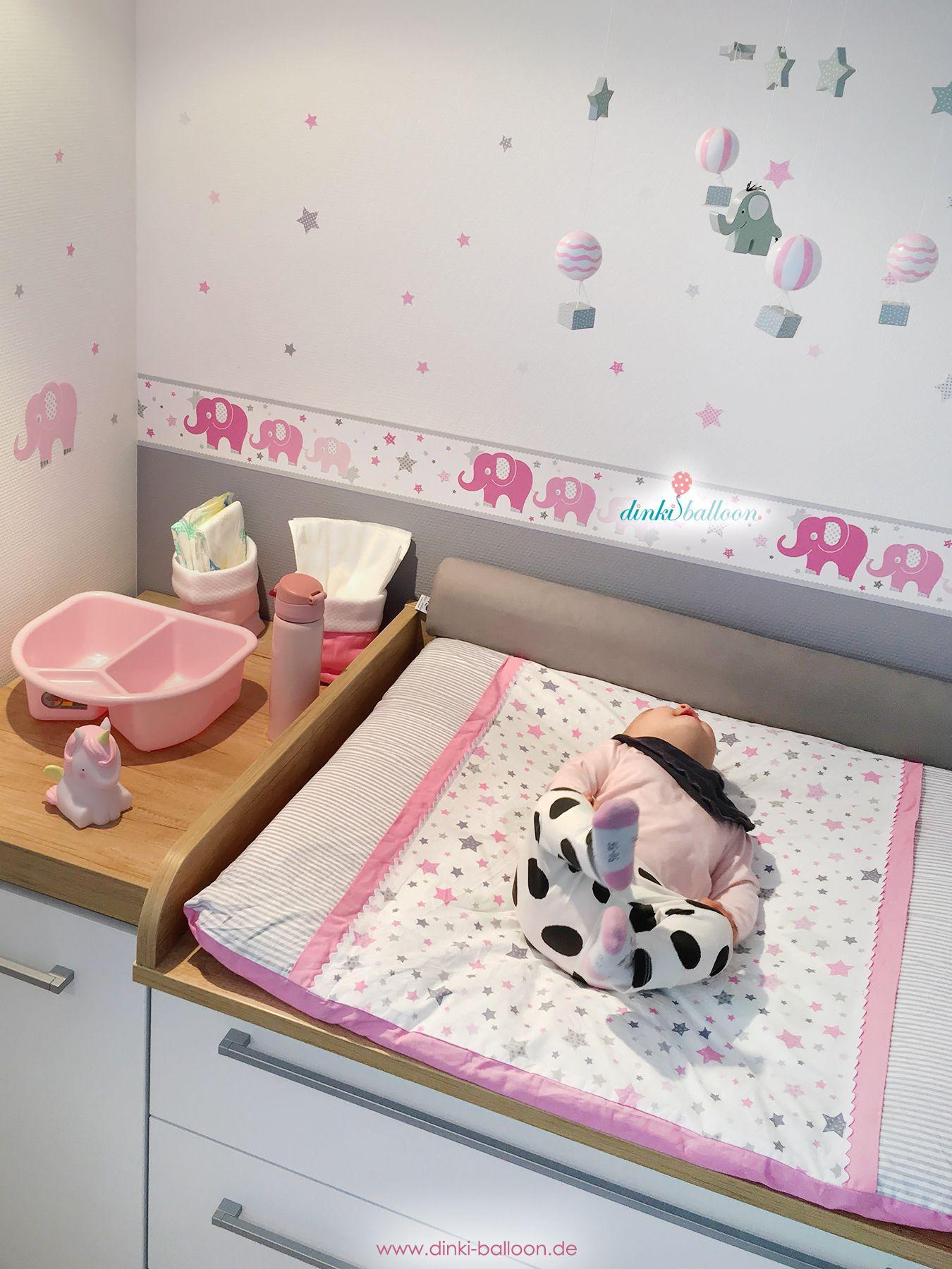 Torooo Babyzimmer Wandgestaltung Lampen Und Textilien Mit