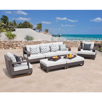 Best Costco Pallazzo 7 Piece Deep Seating Set By Sirio™ Deep 400 x 300