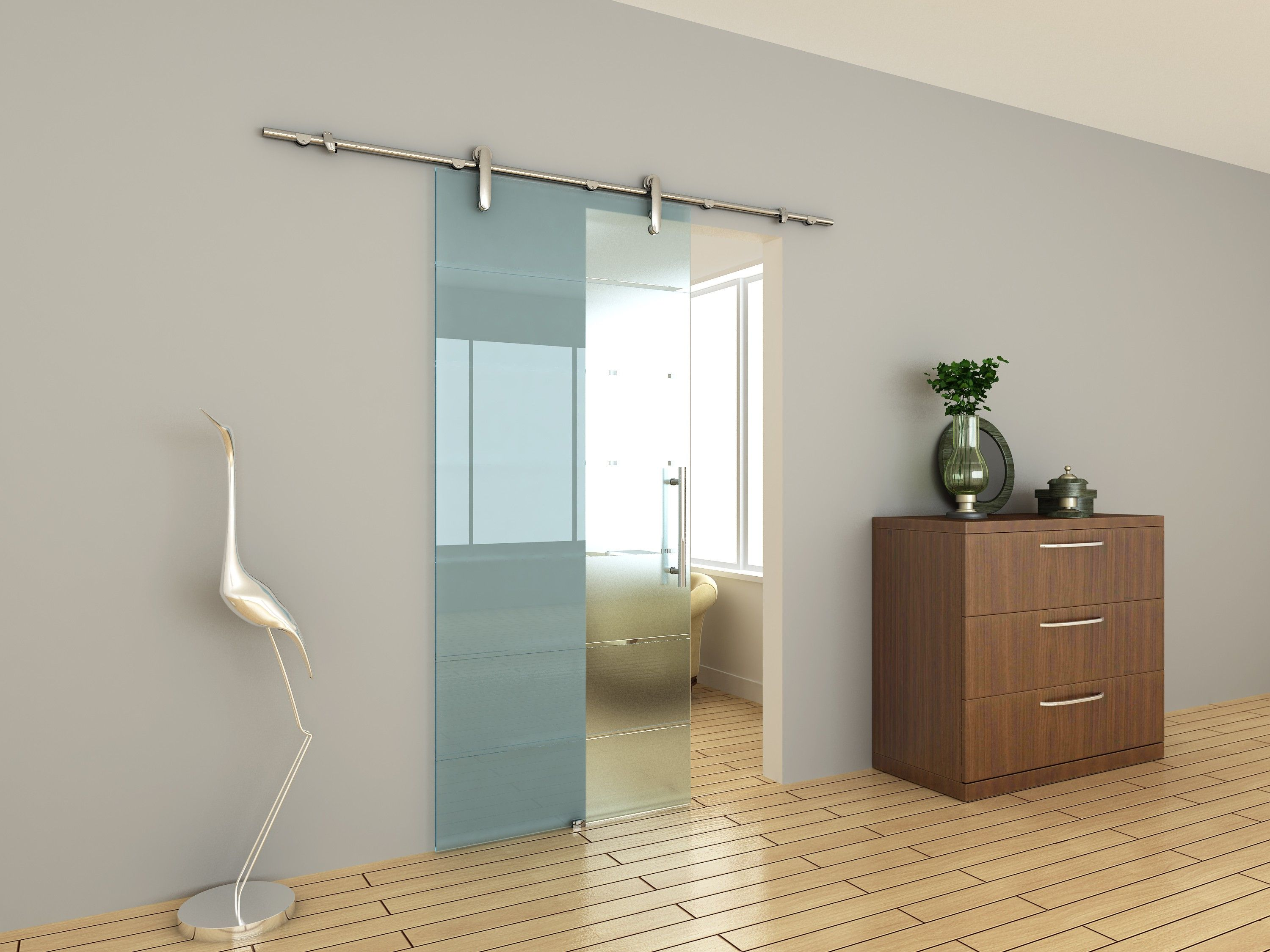 Sliding Gl Doors Interior Bathroom on