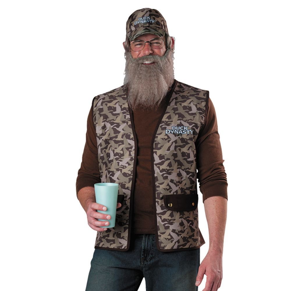 Duck Dynasty Uncle Si Halloween Costume for Men | Costumes for men ...
