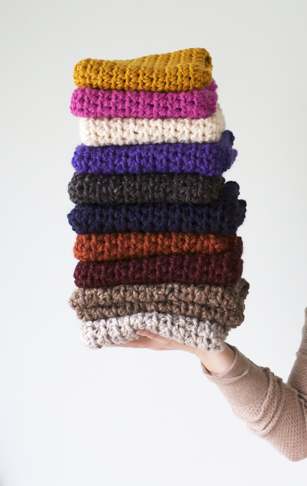Adorable Crochet Cowls for only $15!!