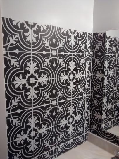 Merola Tile Twenties Classic Encaustic 7 3 4 In X 7 3 4 In Ceramic Floor And Wall Tile 11 11