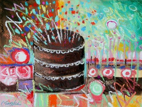 Carol Engles Original art paintings gallery by CA artist Carol