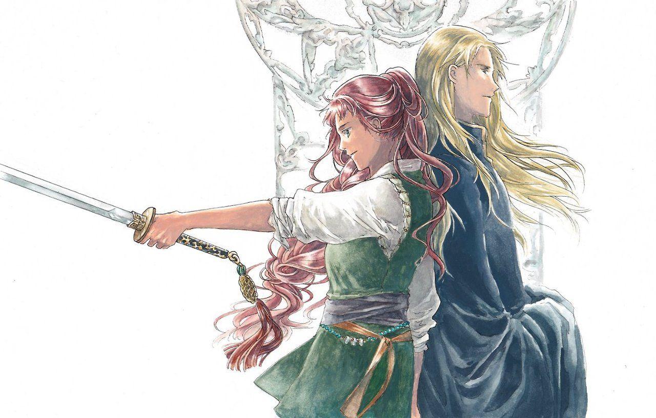 The Twelve Kingdoms Youko and Keiki | The Twelve Kingdoms in