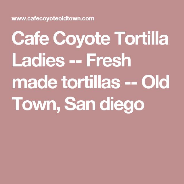 Fresh Tortillas San Francisco