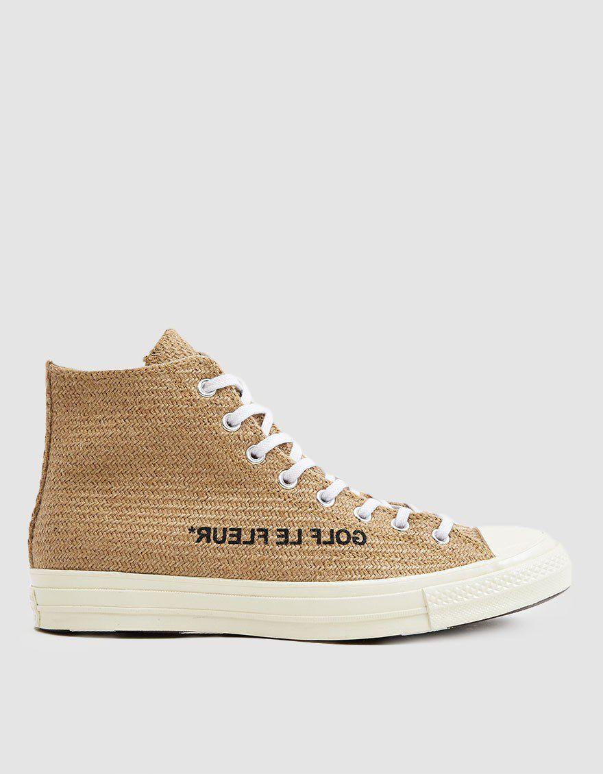 325a643436a9 Converse   Golf le Fleur Chuck 70 Hi Sneaker in Curry in 2019 ...