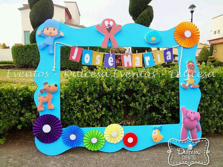 Mathias recepies pinterest pocoyo birthdays and for Decoracion de frutas para fiestas infantiles