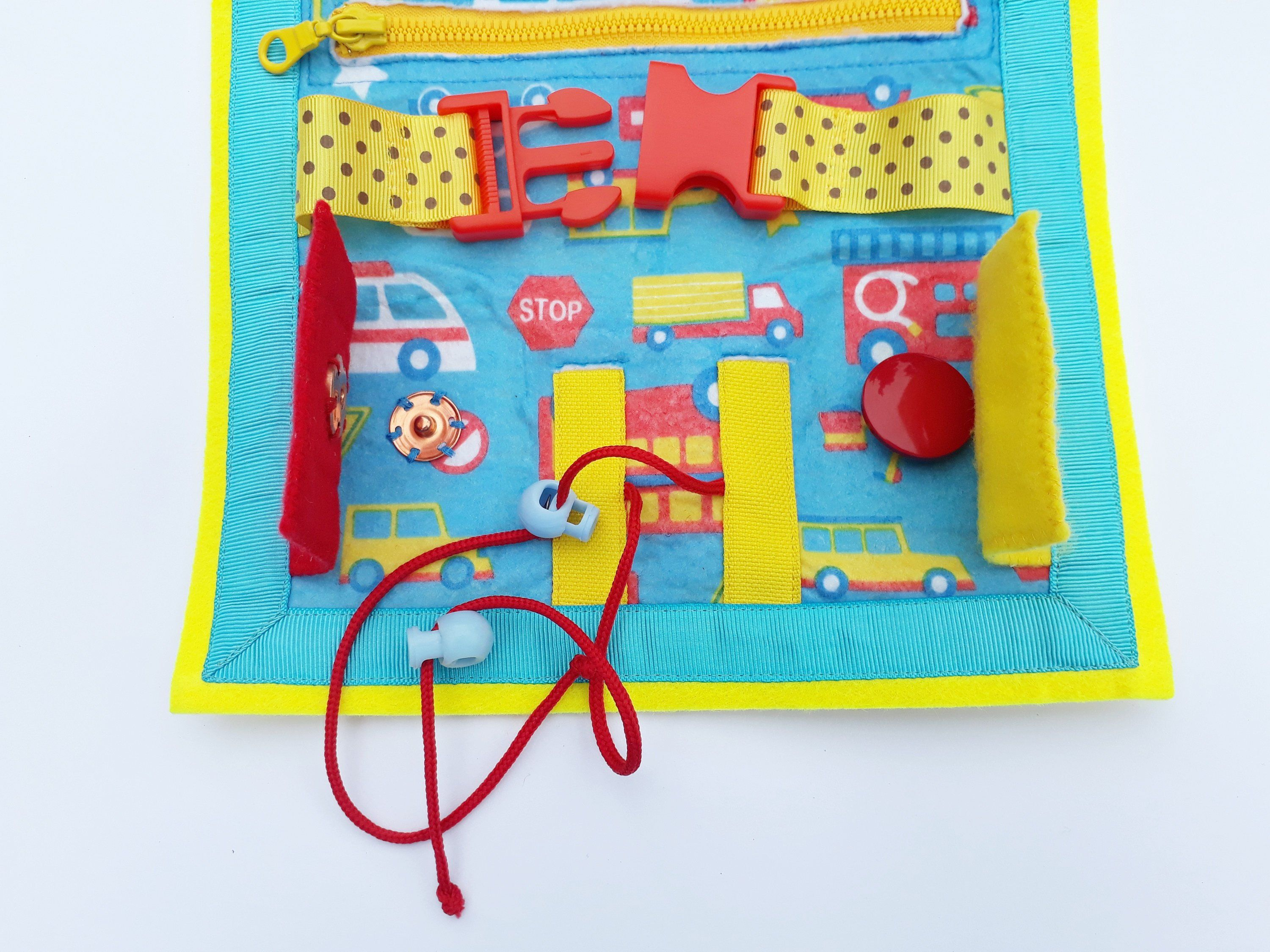 Tutorial Quiet Book, pour 2 ans, Soft Baby Book, Travel toy, Kids Busy Book, Buckle toy Travel ...