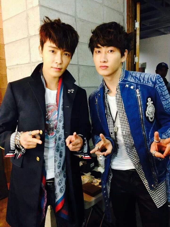 Donghae and Eunhyuk ♡