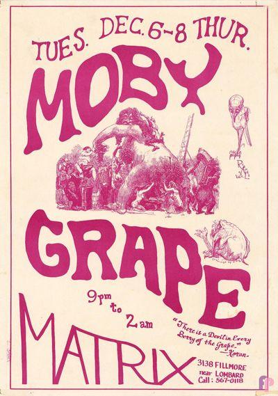 Moby Grape at Matrix 12/6-8/66