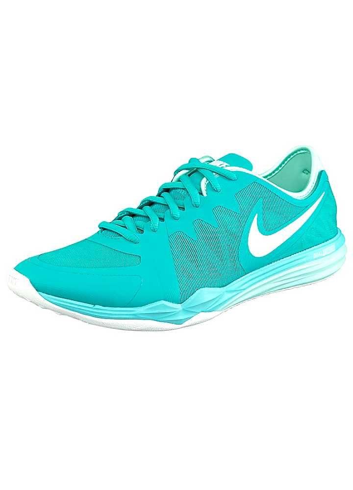 Nike Dual Fusion Tr 3 Womens Light Blue White Sneakers