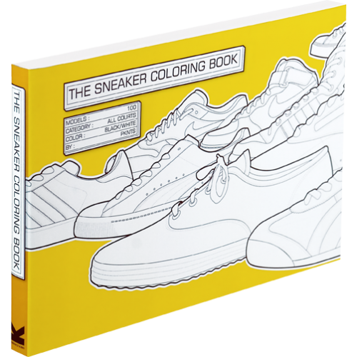 The Sneaker Colouring Book Info Tips Tricks Books Coloring