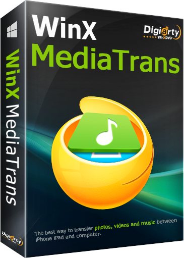 WinX MediaTrans 4 9-More than an iTunes alternative  Now Manage Your